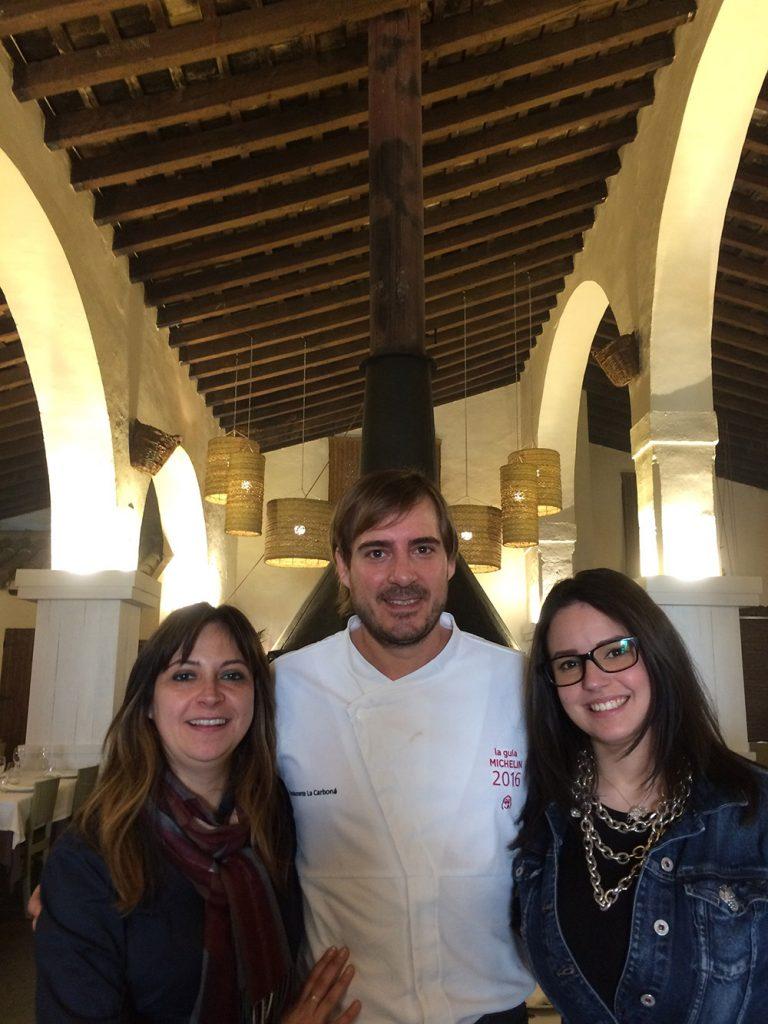 De izquierda a derecha: Yolanda Hidalgo, Javier Muñoz y Alicia Gomez.