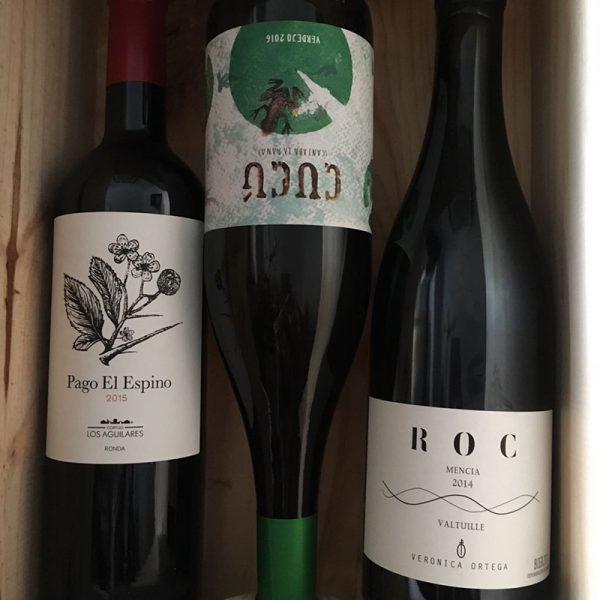 Colección madre de vinos