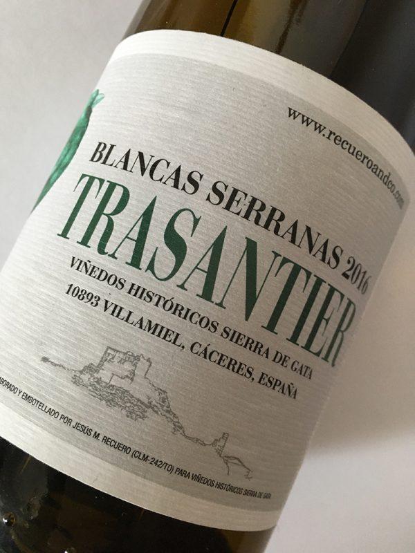 Blancas Serranas 2016 - Trasantier