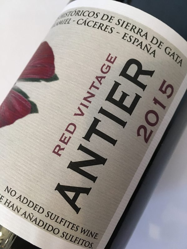 Red vintage Antier