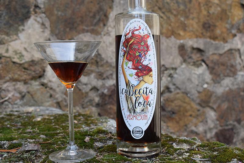 Vermut rojo Cabecita Loca | Premio al mejor vermut del mundo concurso Wine Challlenge | Vermut